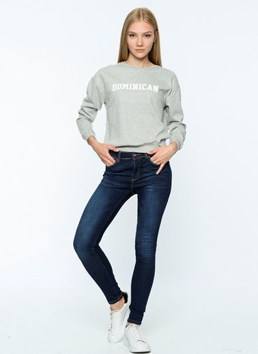 Baskılı Sweatshirt-Fashion Friends